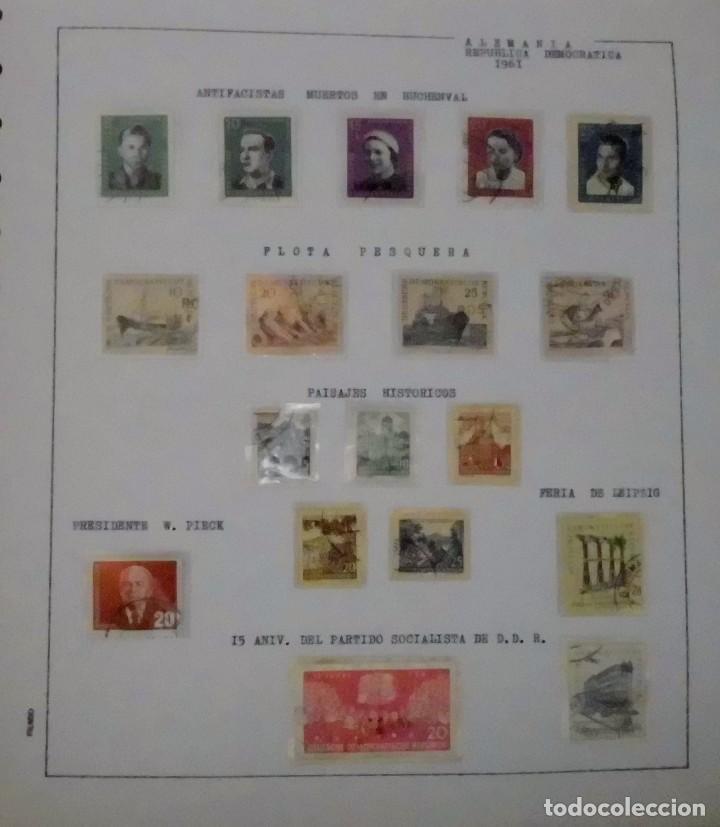 Sellos: COLECCIÓN ALEMANIA ORIENTAL 1948 A 1972, 1973 A 1981 BERLIN, OCCIDENTAL, ALBUM DE SELLOS - Foto 20 - 67324821