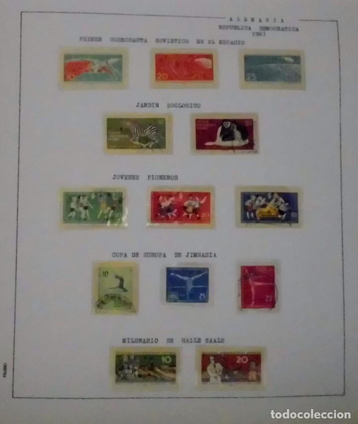 Sellos: COLECCIÓN ALEMANIA ORIENTAL 1948 A 1972, 1973 A 1981 BERLIN, OCCIDENTAL, ALBUM DE SELLOS - Foto 21 - 67324821