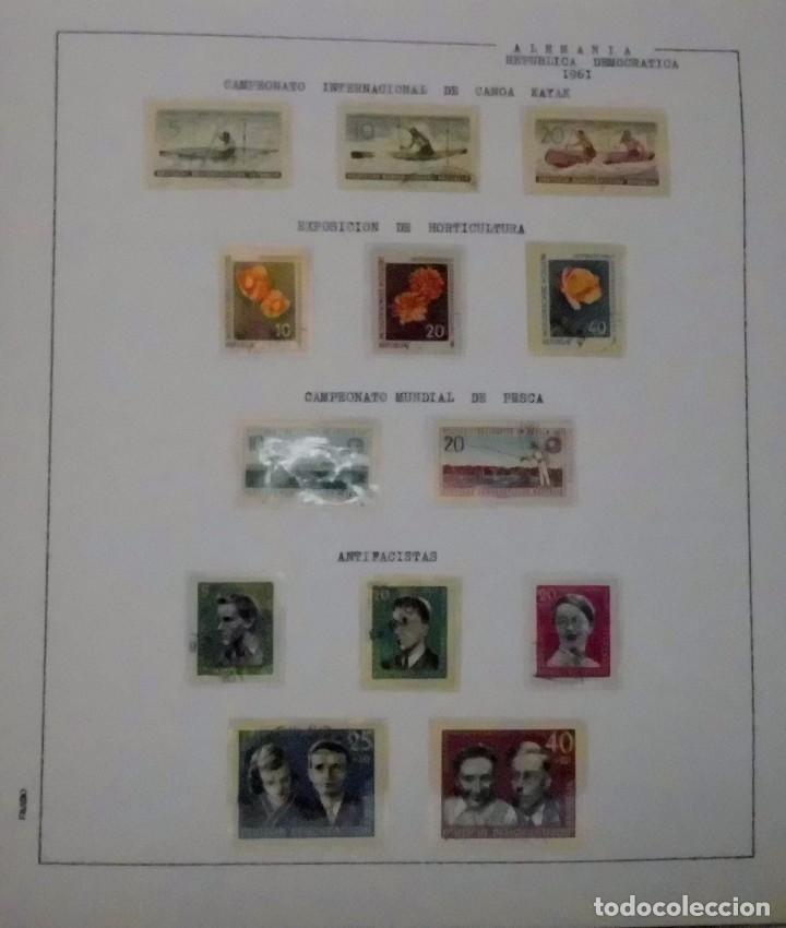 Sellos: COLECCIÓN ALEMANIA ORIENTAL 1948 A 1972, 1973 A 1981 BERLIN, OCCIDENTAL, ALBUM DE SELLOS - Foto 23 - 67324821