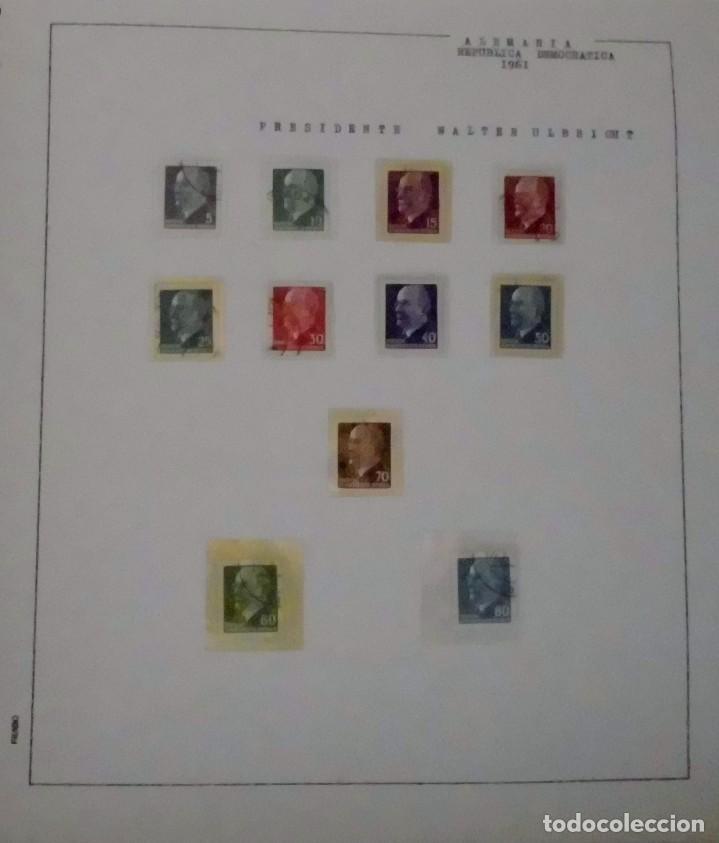 Sellos: COLECCIÓN ALEMANIA ORIENTAL 1948 A 1972, 1973 A 1981 BERLIN, OCCIDENTAL, ALBUM DE SELLOS - Foto 25 - 67324821