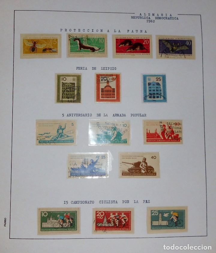 Sellos: COLECCIÓN ALEMANIA ORIENTAL 1948 A 1972, 1973 A 1981 BERLIN, OCCIDENTAL, ALBUM DE SELLOS - Foto 26 - 67324821
