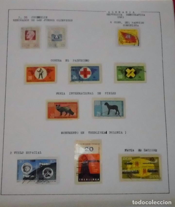 Sellos: COLECCIÓN ALEMANIA ORIENTAL 1948 A 1972, 1973 A 1981 BERLIN, OCCIDENTAL, ALBUM DE SELLOS - Foto 29 - 67324821