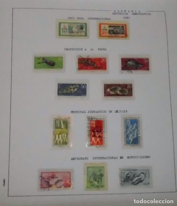 Sellos: COLECCIÓN ALEMANIA ORIENTAL 1948 A 1972, 1973 A 1981 BERLIN, OCCIDENTAL, ALBUM DE SELLOS - Foto 31 - 67324821