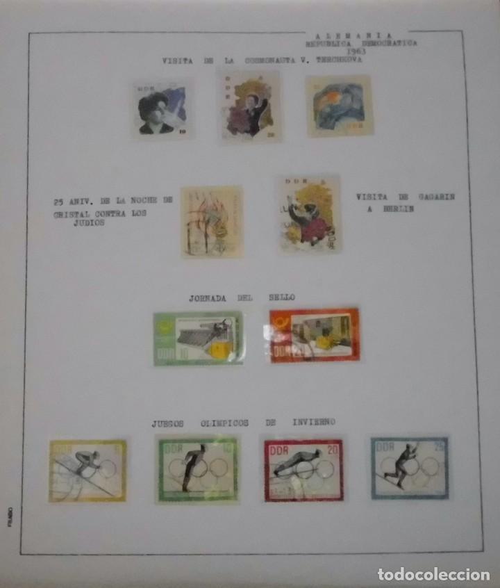 Sellos: COLECCIÓN ALEMANIA ORIENTAL 1948 A 1972, 1973 A 1981 BERLIN, OCCIDENTAL, ALBUM DE SELLOS - Foto 33 - 67324821