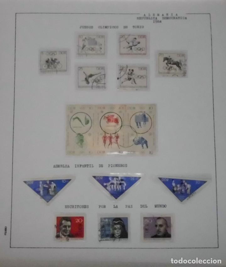 Sellos: COLECCIÓN ALEMANIA ORIENTAL 1948 A 1972, 1973 A 1981 BERLIN, OCCIDENTAL, ALBUM DE SELLOS - Foto 36 - 67324821