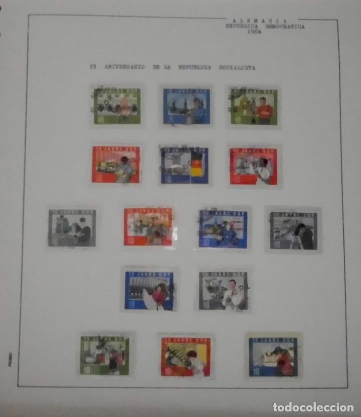 Sellos: COLECCIÓN ALEMANIA ORIENTAL 1948 A 1972, 1973 A 1981 BERLIN, OCCIDENTAL, ALBUM DE SELLOS - Foto 38 - 67324821