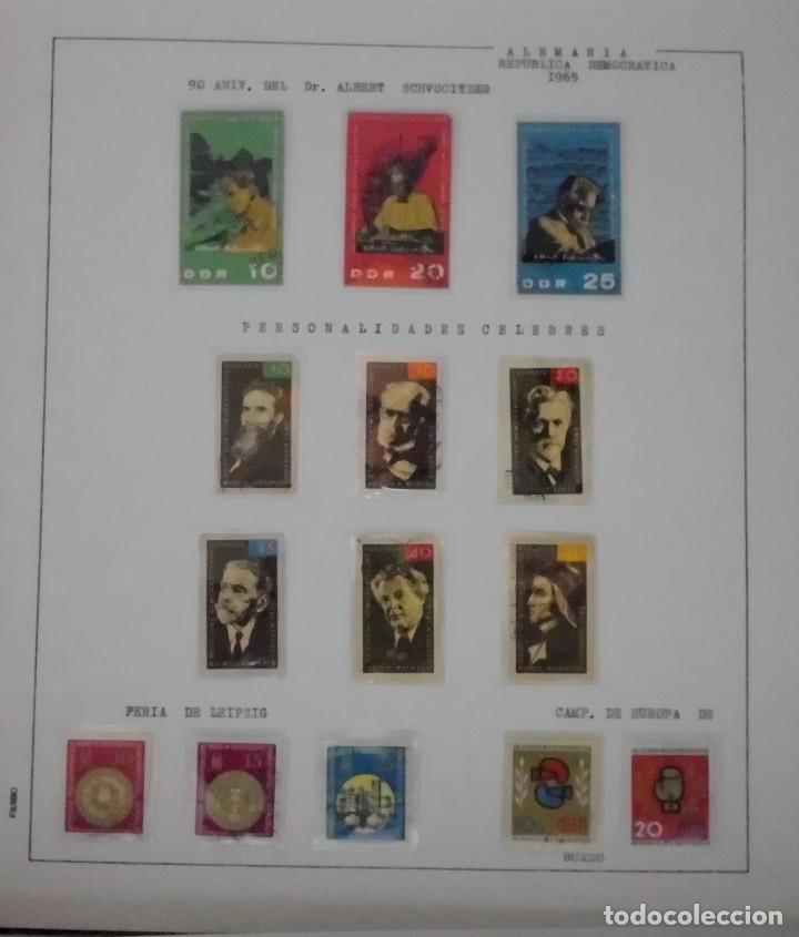 Sellos: COLECCIÓN ALEMANIA ORIENTAL 1948 A 1972, 1973 A 1981 BERLIN, OCCIDENTAL, ALBUM DE SELLOS - Foto 41 - 67324821