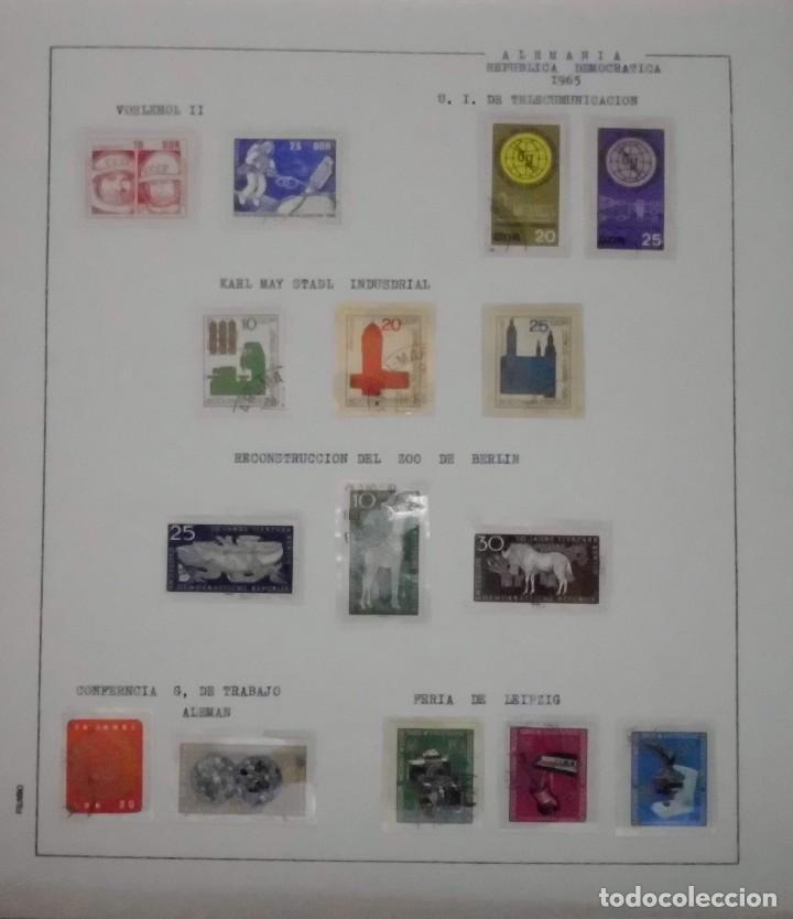Sellos: COLECCIÓN ALEMANIA ORIENTAL 1948 A 1972, 1973 A 1981 BERLIN, OCCIDENTAL, ALBUM DE SELLOS - Foto 42 - 67324821