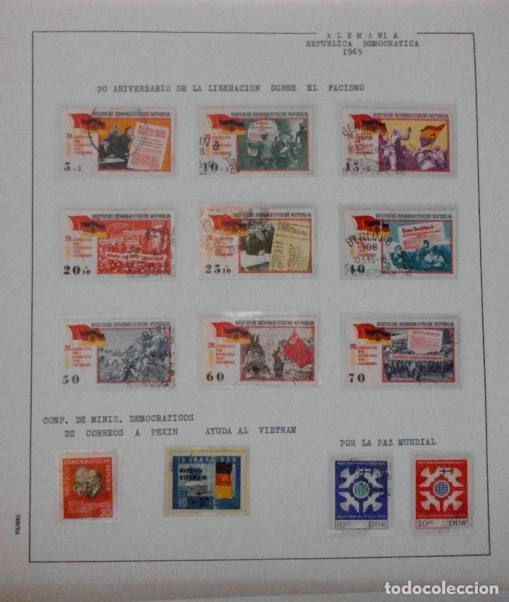 Sellos: COLECCIÓN ALEMANIA ORIENTAL 1948 A 1972, 1973 A 1981 BERLIN, OCCIDENTAL, ALBUM DE SELLOS - Foto 43 - 67324821