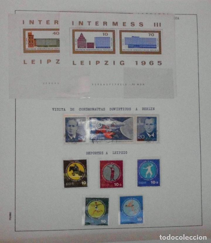 Sellos: COLECCIÓN ALEMANIA ORIENTAL 1948 A 1972, 1973 A 1981 BERLIN, OCCIDENTAL, ALBUM DE SELLOS - Foto 44 - 67324821