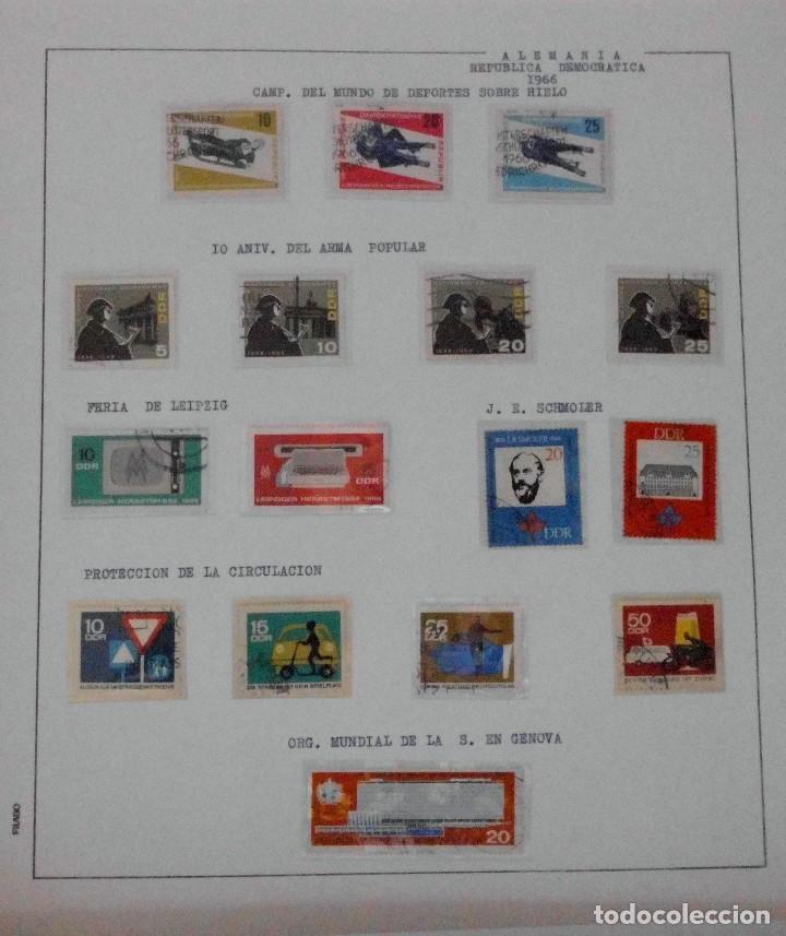 Sellos: COLECCIÓN ALEMANIA ORIENTAL 1948 A 1972, 1973 A 1981 BERLIN, OCCIDENTAL, ALBUM DE SELLOS - Foto 46 - 67324821