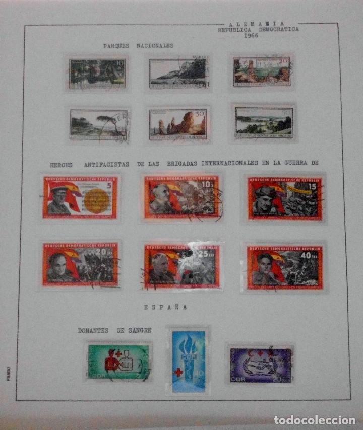 Sellos: COLECCIÓN ALEMANIA ORIENTAL 1948 A 1972, 1973 A 1981 BERLIN, OCCIDENTAL, ALBUM DE SELLOS - Foto 48 - 67324821