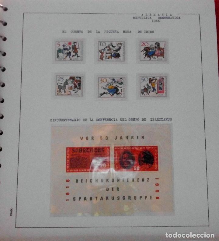 Sellos: COLECCIÓN ALEMANIA ORIENTAL 1948 A 1972, 1973 A 1981 BERLIN, OCCIDENTAL, ALBUM DE SELLOS - Foto 52 - 67324821