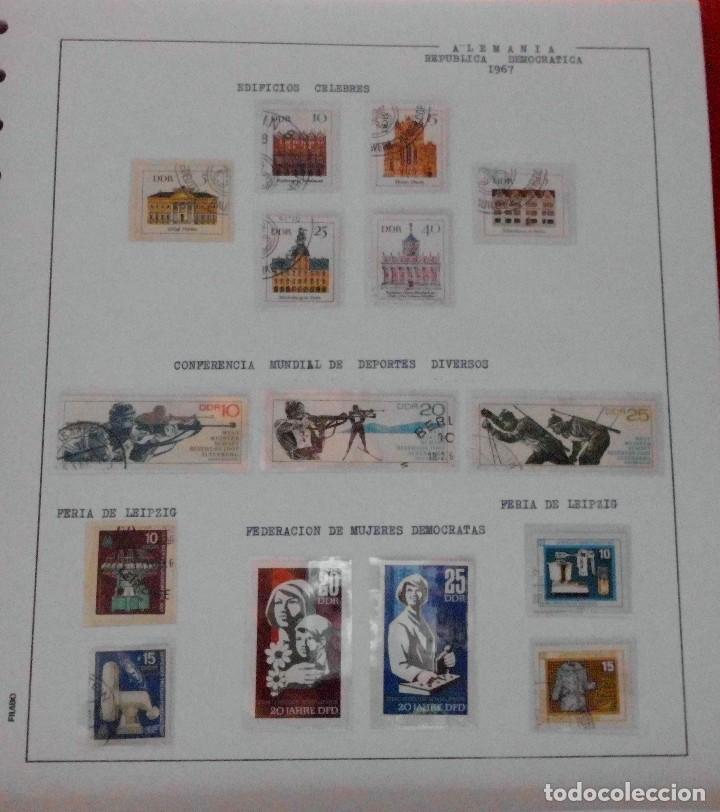Sellos: COLECCIÓN ALEMANIA ORIENTAL 1948 A 1972, 1973 A 1981 BERLIN, OCCIDENTAL, ALBUM DE SELLOS - Foto 53 - 67324821