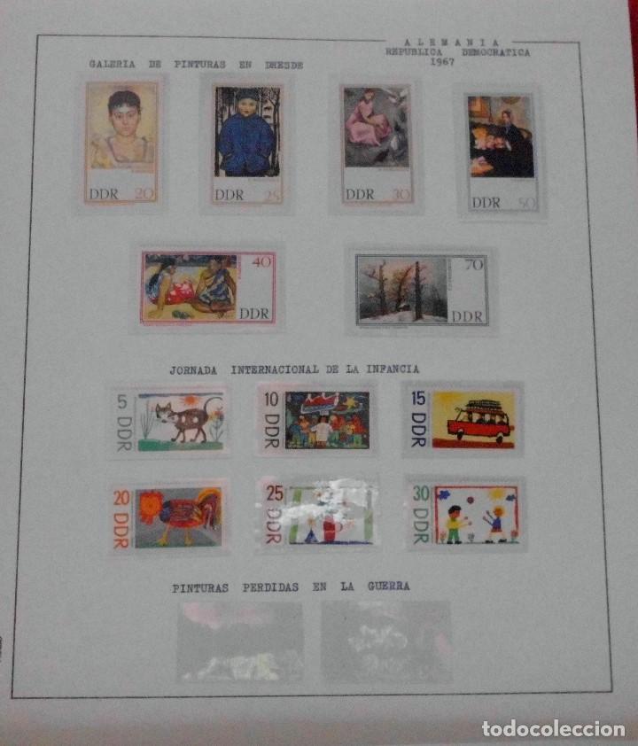 Sellos: COLECCIÓN ALEMANIA ORIENTAL 1948 A 1972, 1973 A 1981 BERLIN, OCCIDENTAL, ALBUM DE SELLOS - Foto 55 - 67324821