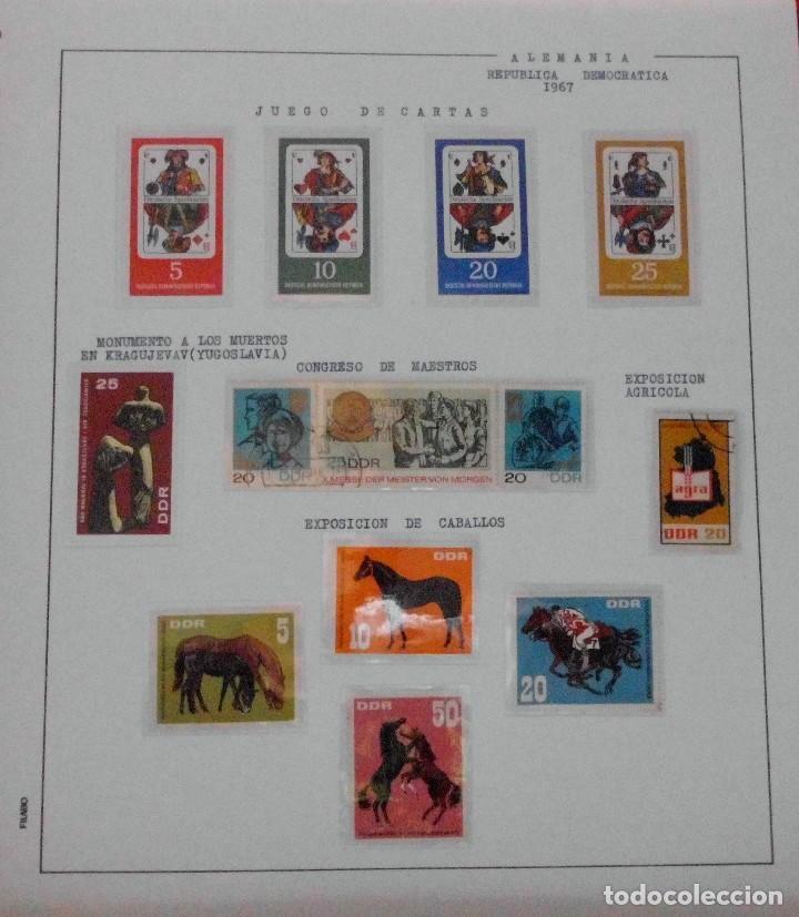 Sellos: COLECCIÓN ALEMANIA ORIENTAL 1948 A 1972, 1973 A 1981 BERLIN, OCCIDENTAL, ALBUM DE SELLOS - Foto 57 - 67324821