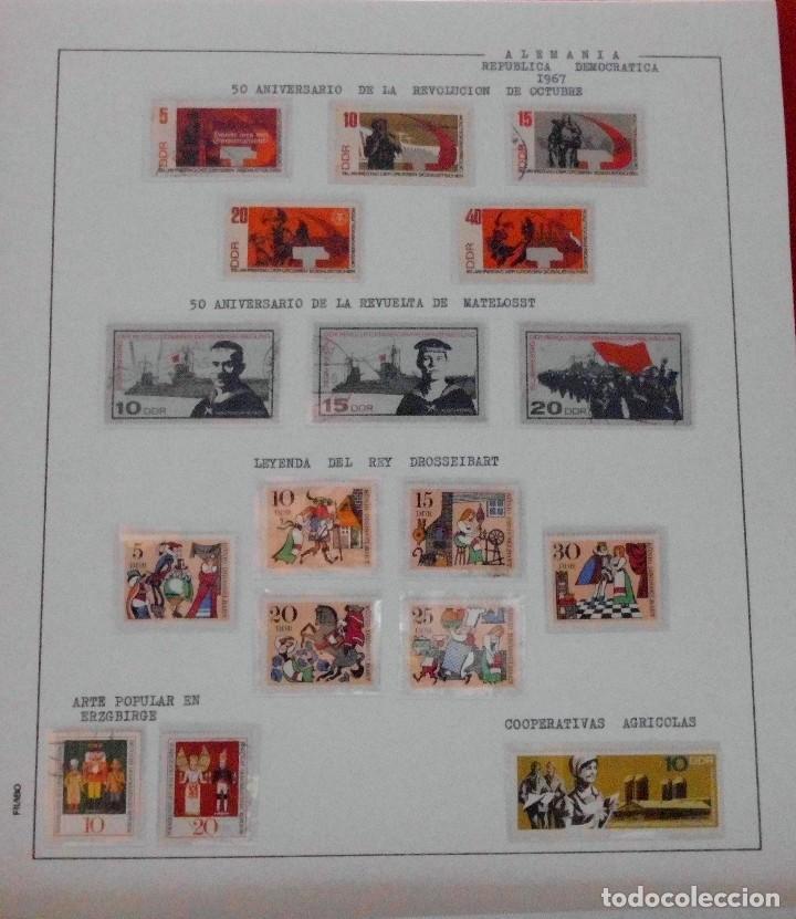 Sellos: COLECCIÓN ALEMANIA ORIENTAL 1948 A 1972, 1973 A 1981 BERLIN, OCCIDENTAL, ALBUM DE SELLOS - Foto 58 - 67324821