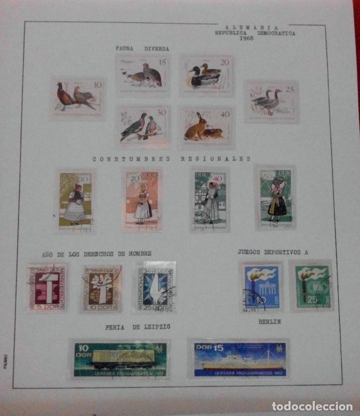 Sellos: COLECCIÓN ALEMANIA ORIENTAL 1948 A 1972, 1973 A 1981 BERLIN, OCCIDENTAL, ALBUM DE SELLOS - Foto 60 - 67324821