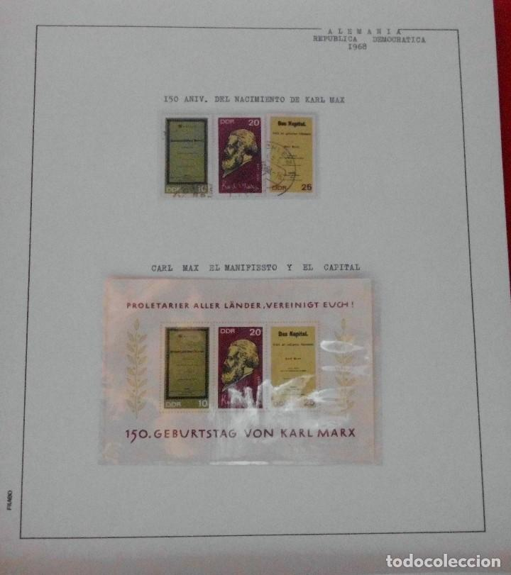Sellos: COLECCIÓN ALEMANIA ORIENTAL 1948 A 1972, 1973 A 1981 BERLIN, OCCIDENTAL, ALBUM DE SELLOS - Foto 65 - 67324821