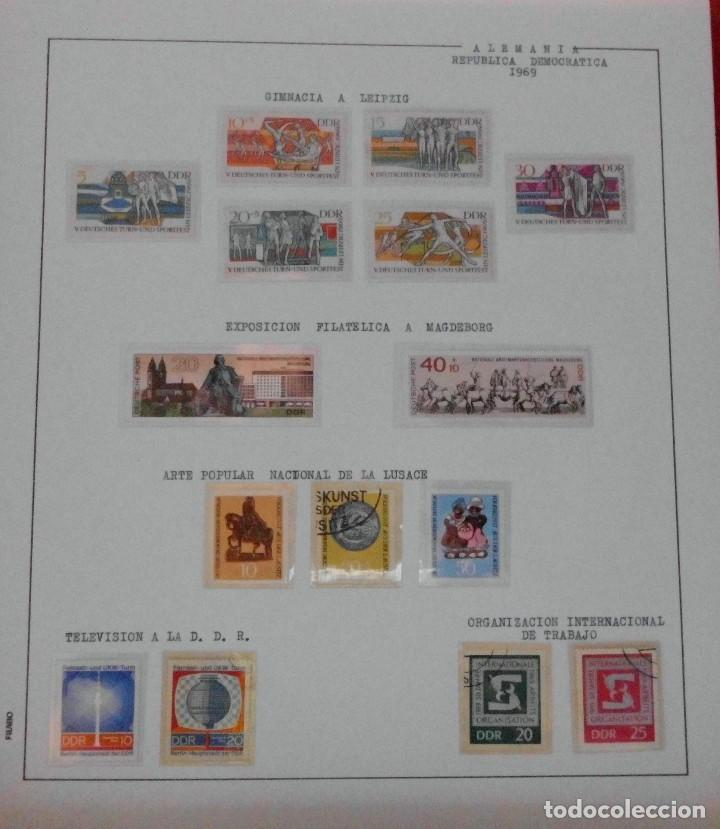 Sellos: COLECCIÓN ALEMANIA ORIENTAL 1948 A 1972, 1973 A 1981 BERLIN, OCCIDENTAL, ALBUM DE SELLOS - Foto 68 - 67324821
