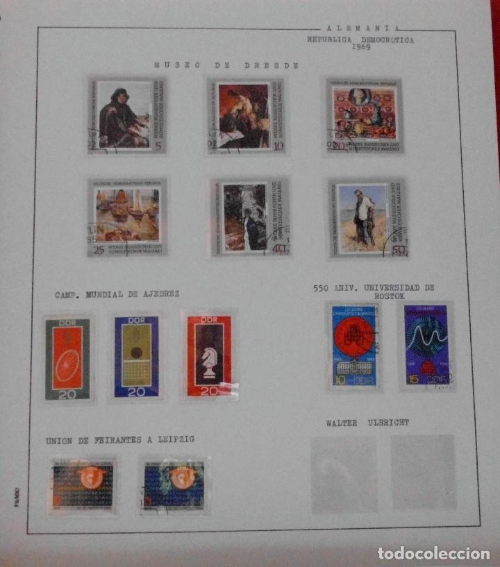 Sellos: COLECCIÓN ALEMANIA ORIENTAL 1948 A 1972, 1973 A 1981 BERLIN, OCCIDENTAL, ALBUM DE SELLOS - Foto 69 - 67324821