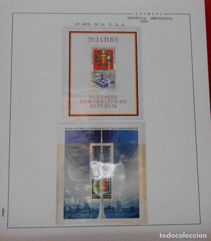 Sellos: COLECCIÓN ALEMANIA ORIENTAL 1948 A 1972, 1973 A 1981 BERLIN, OCCIDENTAL, ALBUM DE SELLOS - Foto 72 - 67324821