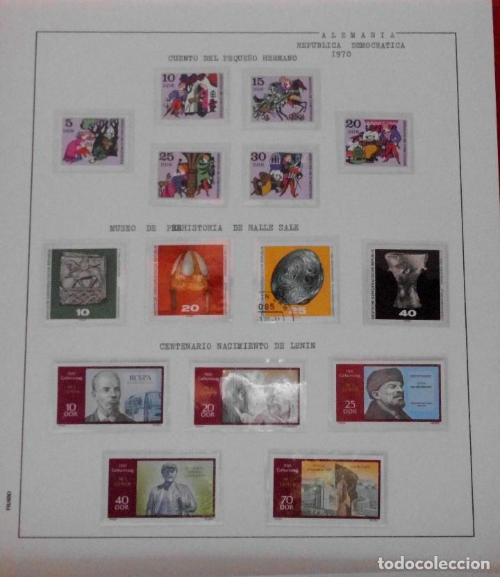 Sellos: COLECCIÓN ALEMANIA ORIENTAL 1948 A 1972, 1973 A 1981 BERLIN, OCCIDENTAL, ALBUM DE SELLOS - Foto 73 - 67324821