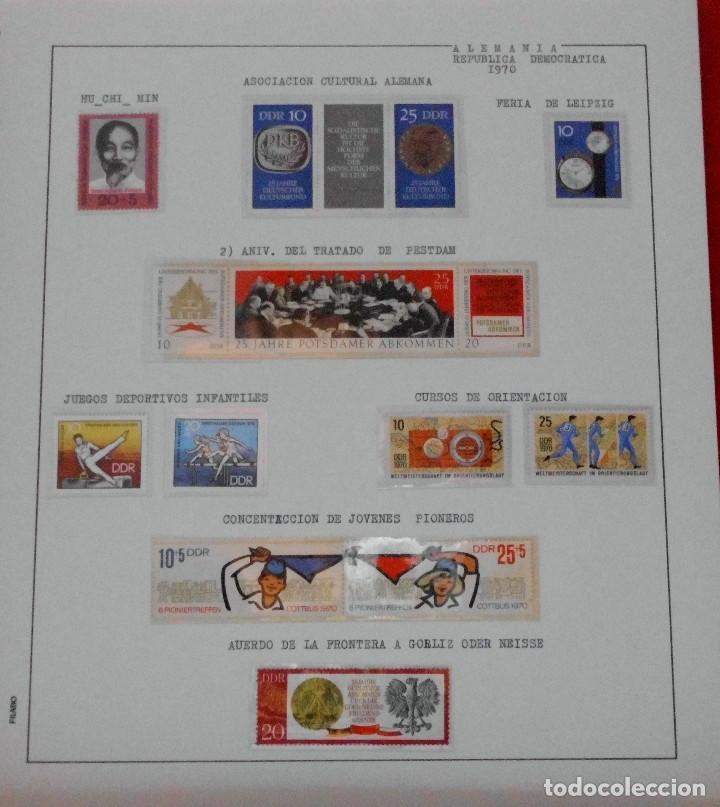 Sellos: COLECCIÓN ALEMANIA ORIENTAL 1948 A 1972, 1973 A 1981 BERLIN, OCCIDENTAL, ALBUM DE SELLOS - Foto 75 - 67324821