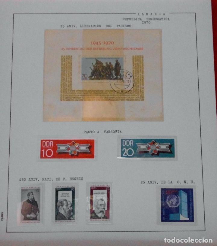 Sellos: COLECCIÓN ALEMANIA ORIENTAL 1948 A 1972, 1973 A 1981 BERLIN, OCCIDENTAL, ALBUM DE SELLOS - Foto 76 - 67324821