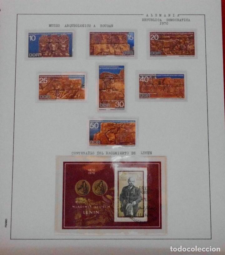 Sellos: COLECCIÓN ALEMANIA ORIENTAL 1948 A 1972, 1973 A 1981 BERLIN, OCCIDENTAL, ALBUM DE SELLOS - Foto 77 - 67324821
