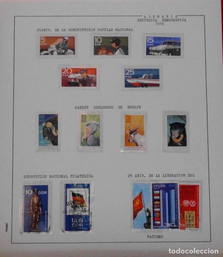 Sellos: COLECCIÓN ALEMANIA ORIENTAL 1948 A 1972, 1973 A 1981 BERLIN, OCCIDENTAL, ALBUM DE SELLOS - Foto 79 - 67324821