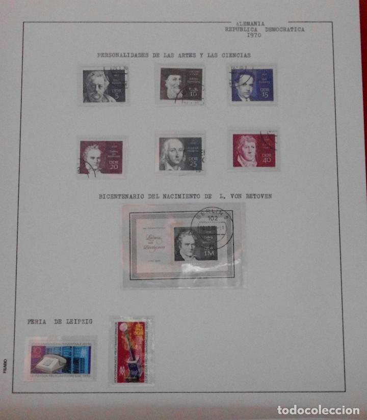 Sellos: COLECCIÓN ALEMANIA ORIENTAL 1948 A 1972, 1973 A 1981 BERLIN, OCCIDENTAL, ALBUM DE SELLOS - Foto 80 - 67324821