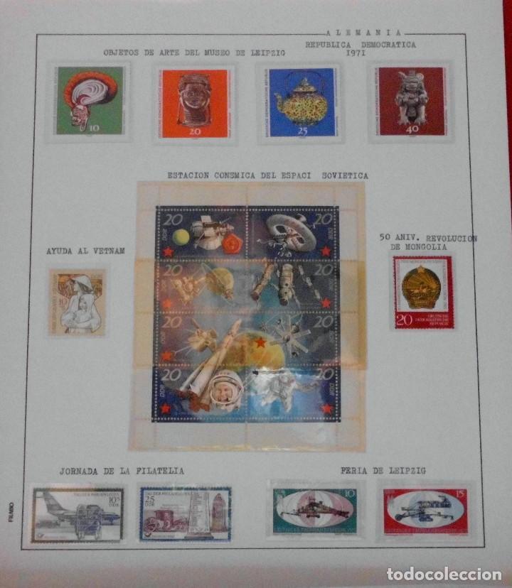 Sellos: COLECCIÓN ALEMANIA ORIENTAL 1948 A 1972, 1973 A 1981 BERLIN, OCCIDENTAL, ALBUM DE SELLOS - Foto 81 - 67324821