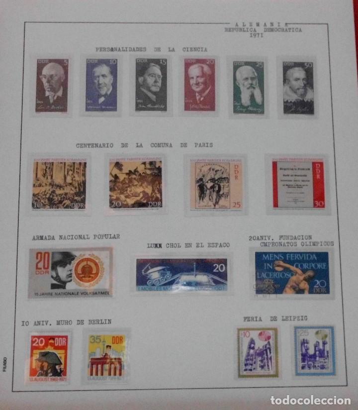 Sellos: COLECCIÓN ALEMANIA ORIENTAL 1948 A 1972, 1973 A 1981 BERLIN, OCCIDENTAL, ALBUM DE SELLOS - Foto 82 - 67324821