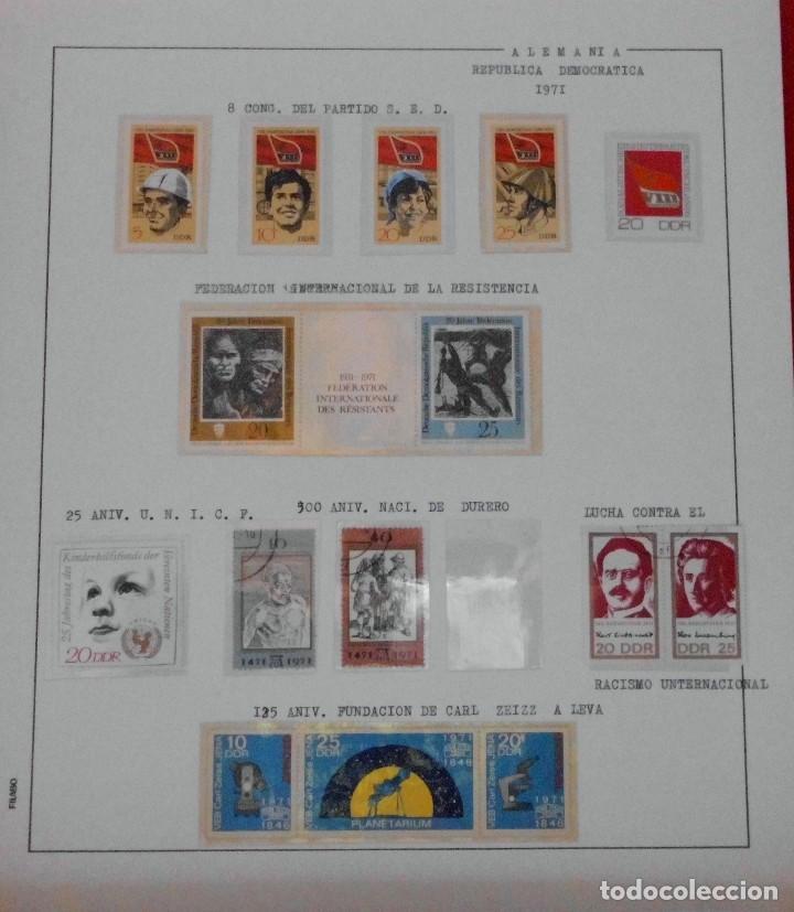 Sellos: COLECCIÓN ALEMANIA ORIENTAL 1948 A 1972, 1973 A 1981 BERLIN, OCCIDENTAL, ALBUM DE SELLOS - Foto 83 - 67324821