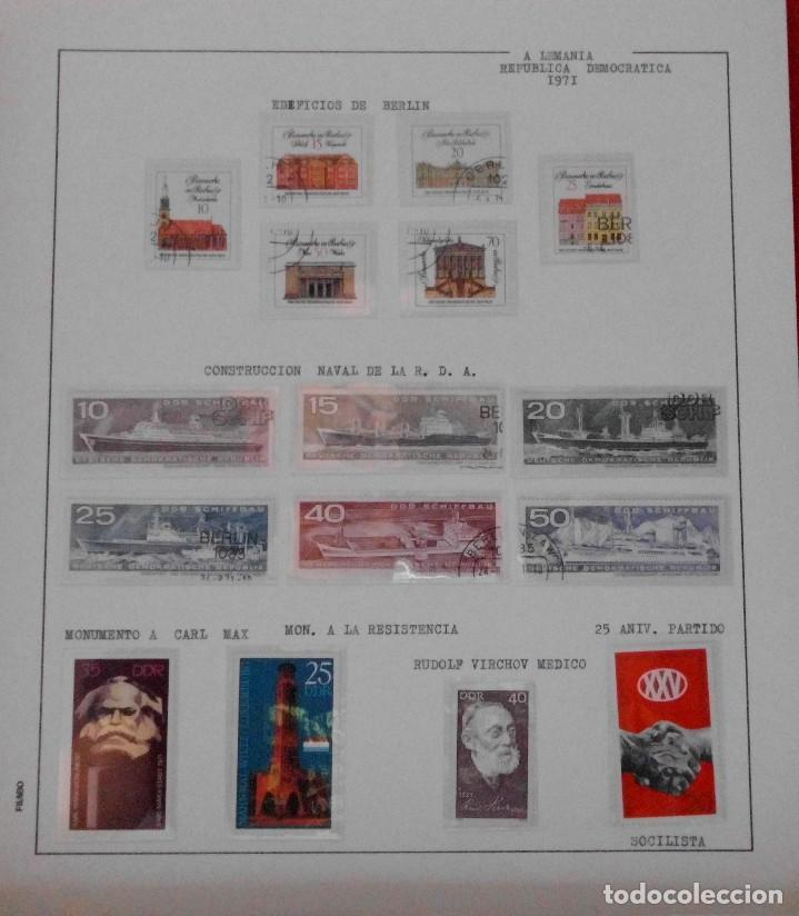 Sellos: COLECCIÓN ALEMANIA ORIENTAL 1948 A 1972, 1973 A 1981 BERLIN, OCCIDENTAL, ALBUM DE SELLOS - Foto 84 - 67324821
