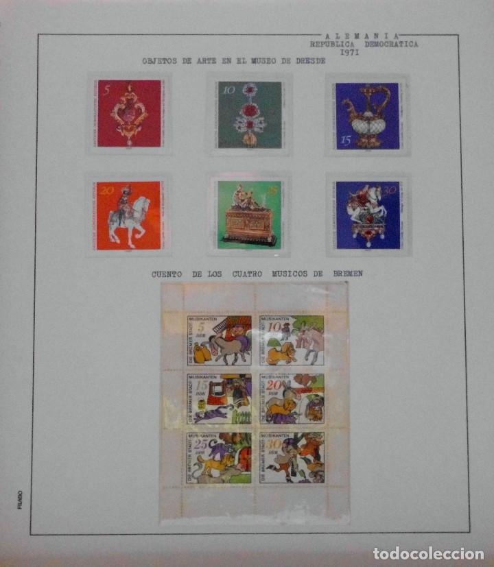 Sellos: COLECCIÓN ALEMANIA ORIENTAL 1948 A 1972, 1973 A 1981 BERLIN, OCCIDENTAL, ALBUM DE SELLOS - Foto 86 - 67324821