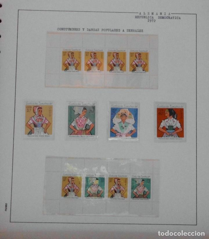 Sellos: COLECCIÓN ALEMANIA ORIENTAL 1948 A 1972, 1973 A 1981 BERLIN, OCCIDENTAL, ALBUM DE SELLOS - Foto 87 - 67324821