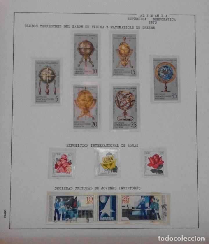 Sellos: COLECCIÓN ALEMANIA ORIENTAL 1948 A 1972, 1973 A 1981 BERLIN, OCCIDENTAL, ALBUM DE SELLOS - Foto 91 - 67324821