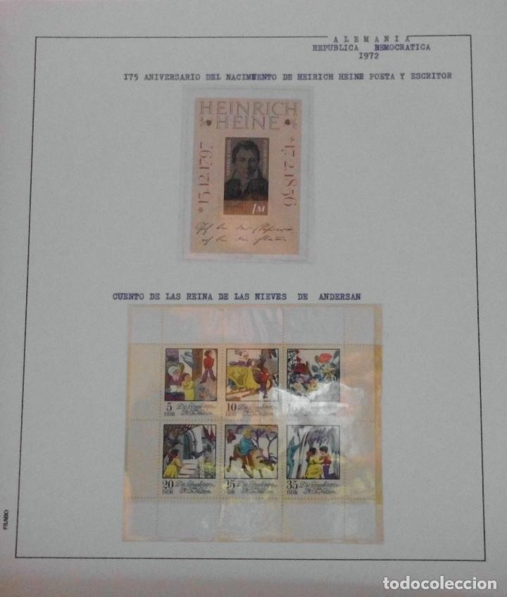 Sellos: COLECCIÓN ALEMANIA ORIENTAL 1948 A 1972, 1973 A 1981 BERLIN, OCCIDENTAL, ALBUM DE SELLOS - Foto 94 - 67324821