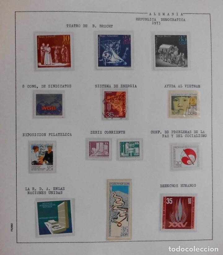 Sellos: COLECCIÓN ALEMANIA ORIENTAL 1948 A 1972, 1973 A 1981 BERLIN, OCCIDENTAL, ALBUM DE SELLOS - Foto 98 - 67324821
