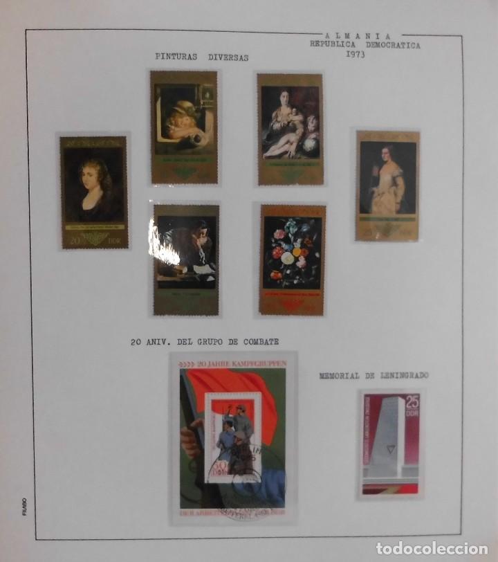 Sellos: COLECCIÓN ALEMANIA ORIENTAL 1948 A 1972, 1973 A 1981 BERLIN, OCCIDENTAL, ALBUM DE SELLOS - Foto 100 - 67324821