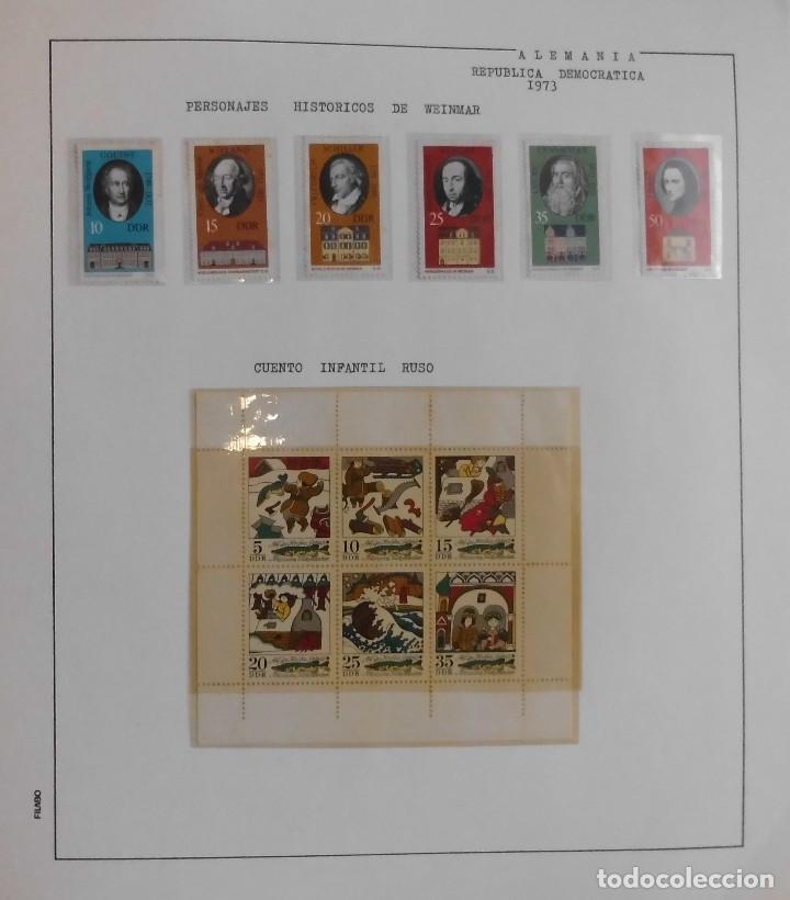 Sellos: COLECCIÓN ALEMANIA ORIENTAL 1948 A 1972, 1973 A 1981 BERLIN, OCCIDENTAL, ALBUM DE SELLOS - Foto 102 - 67324821