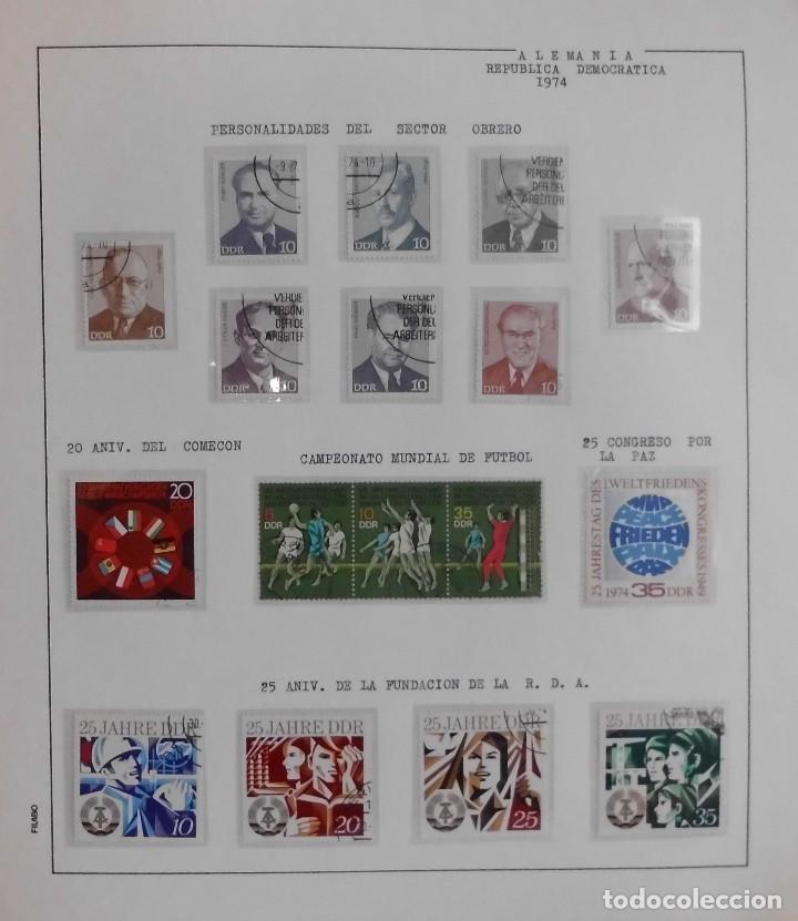 Sellos: COLECCIÓN ALEMANIA ORIENTAL 1948 A 1972, 1973 A 1981 BERLIN, OCCIDENTAL, ALBUM DE SELLOS - Foto 103 - 67324821