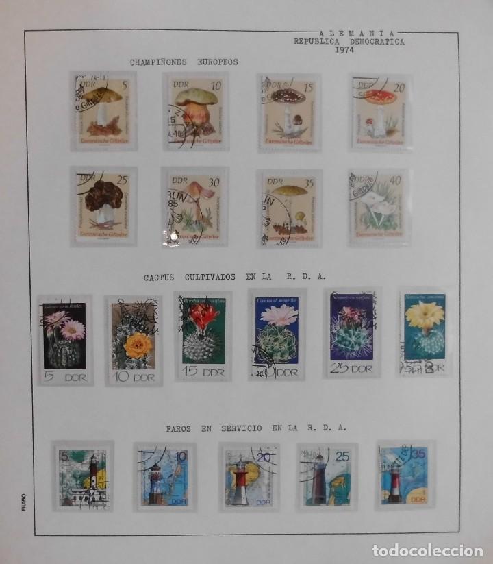 Sellos: COLECCIÓN ALEMANIA ORIENTAL 1948 A 1972, 1973 A 1981 BERLIN, OCCIDENTAL, ALBUM DE SELLOS - Foto 104 - 67324821