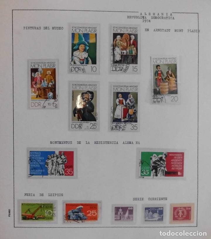 Sellos: COLECCIÓN ALEMANIA ORIENTAL 1948 A 1972, 1973 A 1981 BERLIN, OCCIDENTAL, ALBUM DE SELLOS - Foto 105 - 67324821