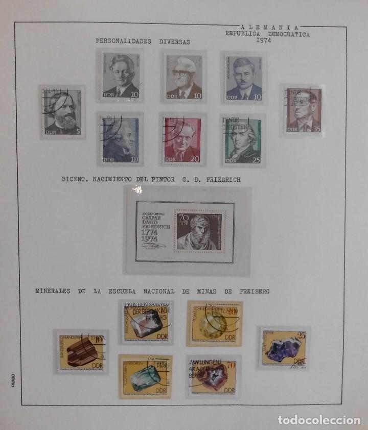 Sellos: COLECCIÓN ALEMANIA ORIENTAL 1948 A 1972, 1973 A 1981 BERLIN, OCCIDENTAL, ALBUM DE SELLOS - Foto 107 - 67324821