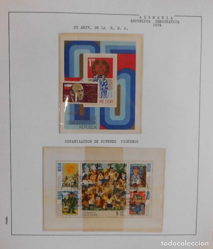 Sellos: COLECCIÓN ALEMANIA ORIENTAL 1948 A 1972, 1973 A 1981 BERLIN, OCCIDENTAL, ALBUM DE SELLOS - Foto 108 - 67324821