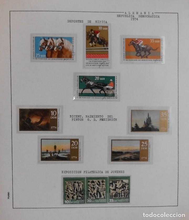 Sellos: COLECCIÓN ALEMANIA ORIENTAL 1948 A 1972, 1973 A 1981 BERLIN, OCCIDENTAL, ALBUM DE SELLOS - Foto 109 - 67324821