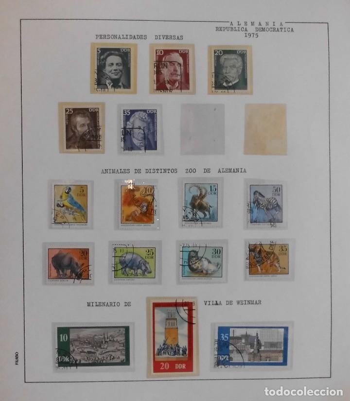 Sellos: COLECCIÓN ALEMANIA ORIENTAL 1948 A 1972, 1973 A 1981 BERLIN, OCCIDENTAL, ALBUM DE SELLOS - Foto 110 - 67324821